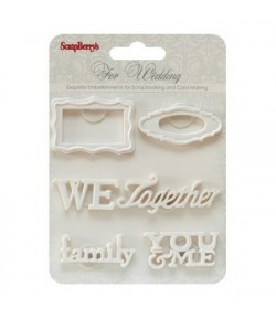 MINIATURES EN RESINE WEDDING X 6