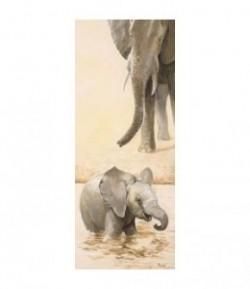 IMAGE 3D ELEPHANTEAU GAUCHE 20X50