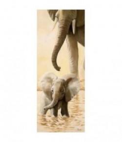 IMAGE 3D ELEPHANTEAU DROITE 20X50