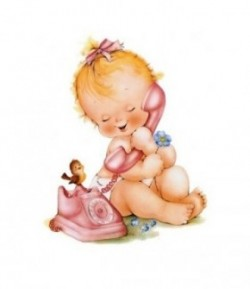 IMAGE 3D ENFANT TELEPHONE NAV315 24X30