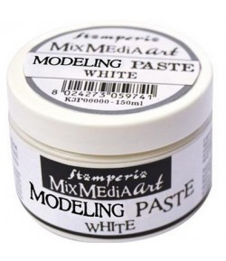 PATE STRUCTURE LISSE BLANCHE 150ML - MODELING PASTE