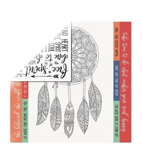 PAPIER DAYDREAMER 30.5 X 30.5 CM - KAISERCRAFT BOHO DREAMS
