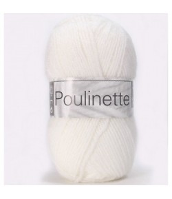 LAINE POULINETTE BLANC (011)