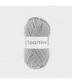 LAINE SPORTIVE GRIS CLAIR (058)