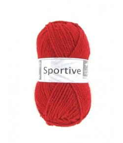 LAINE SPORTIVE ROUGE (004)