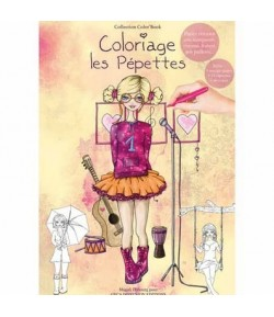 CAHIER COLORIAGE PEPETTES