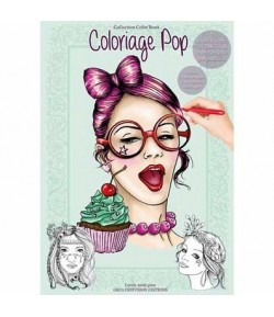 CAHIER COLORIAGE POP