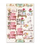 FEUILLE 3D SHABBY CHIC 1530360