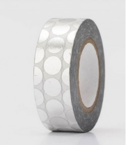 MASKING TAPE ROND ARGENT 35.05