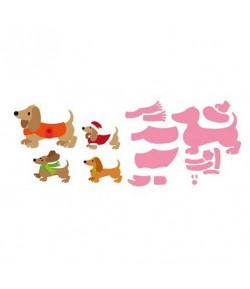 DIES COLLECTABLES CHIEN COL1411