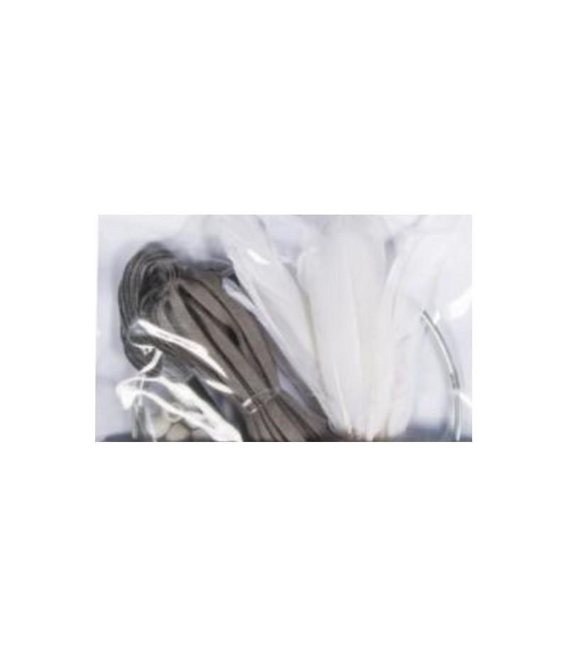 attrape reves kit gris noir blanc doigts de f es. Black Bedroom Furniture Sets. Home Design Ideas