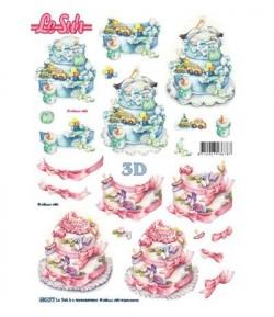FEUILLE 3D BEBES