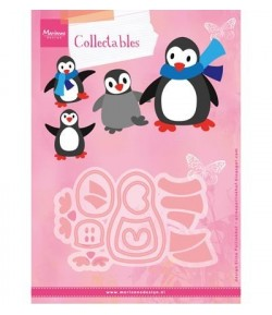DIES PINGOUINS COLLECTABLES - COL1416