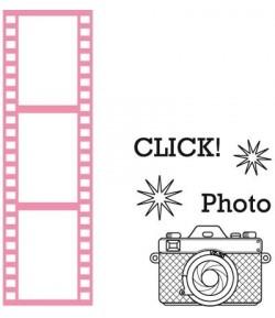DIE PELLICULE  PHOTO COLLECTABLE + TAMPONS - COL1390