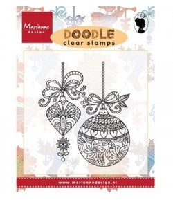 TAMPON BOULES NOEL - MARIANNE DESIGN