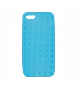 COQUE IPHONE 4/4S A BRODER BLEU