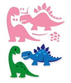 DIES DINOSAURES COLLECTABLES - COL1400