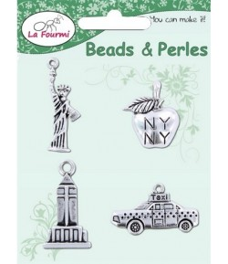 CHARMS NEW YORK ARGENT - KGM715