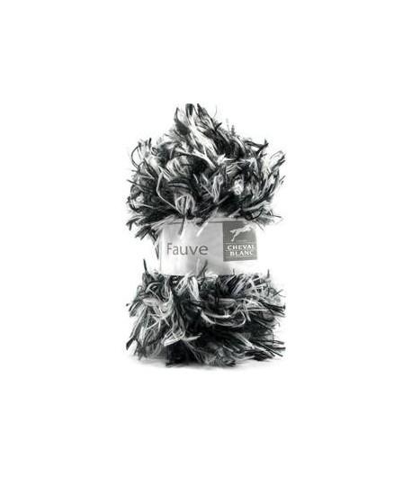 LAINE FAUVE NOIR/BLANC (400)
