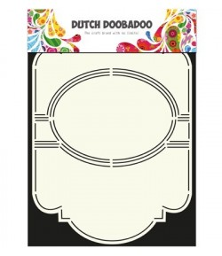GABARIT SWING CARD - DUTCH DOOBADOO (309)