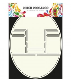 GABARIT POP UP OVAL - DUTCH DOOBADOO (304)