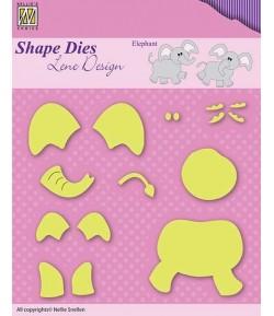 12 DIES ELEPHANT - SDL031
