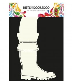 GABARIT BOTTES CARD - DUTCH DOOBADOO (619)