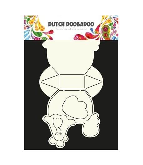 Gabarit Poule Box Dutch Doobadoo 035 Doigts De Fées