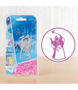 DIE ET TAMPON MARRAINE CENDRILLON DISNEY DL078