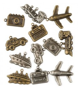 CHARMS METAL VEHICULES