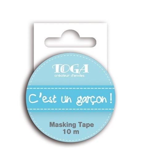 MASKING TAPE C'EST UN GARCON - 10 M