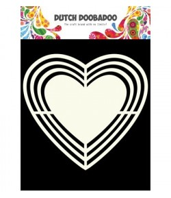 GABARIT COEUR - DUTCH DOOBADOO (113)