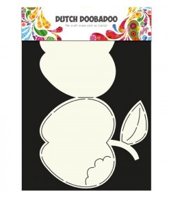 GABARIT POMME CARD - DUTCH DOOBADOO