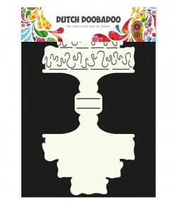 GABARIT CAKE CARD - DUTCH DOOBADOO