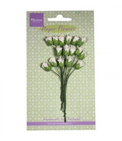 MINI TULIPES BLANCHES X 16 - MARIANNE DESIGN
