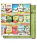 PAPIER TROPICS CARDS 1- SCRAPBERRY