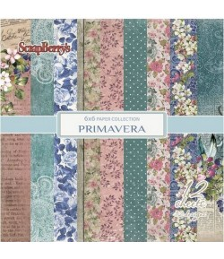 BLOC PAPIER 15X15 PRIMAVERA - SCRAPBERRY'S