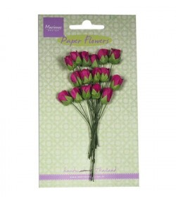 MINI TULIPES FUSCHIA X 16 - RB2241