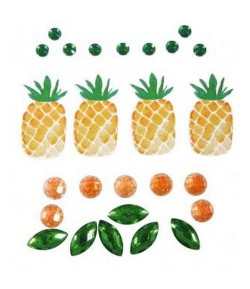 STICKERS DECO ANANAS