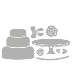 DIES WEDDING CAKE