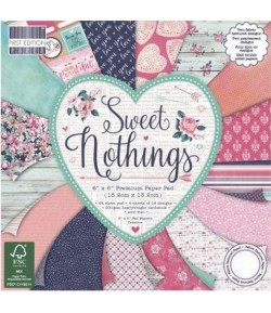 BLOC 64 FEUILLES SWEET NOTHINGS 15.2X15.2
