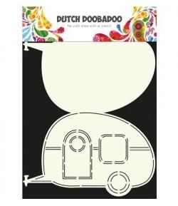 GABARIT CARAVANE CARD - DUTCH DOOBADOO