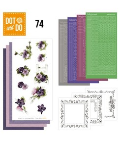 KIT 3D DOT AND DO FLEURS - 074