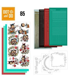 KIT 3D DOT AND DO COCCINELLES - 085