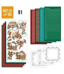 KIT 3D DOT AND DO HIVER  - 091