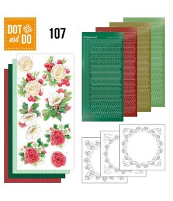KIT 3D DOT AND DO FLEURS DE NOEL - 107
