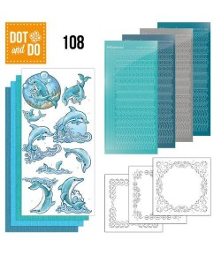 KIT 3D DOT AND DO DAUPHINS - 108