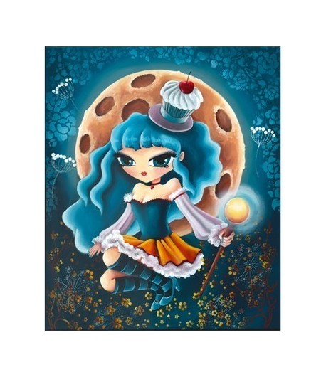 IMAGE 3D MISS CUP CAKE 30X40 - GK3040023