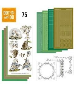 KIT 3D DOT CANARDS LAPINS - 075