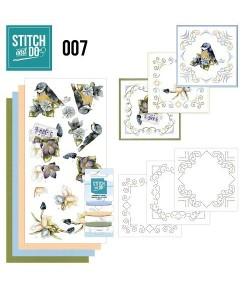 KIT 3D A BRODER OISEAUX STDO007